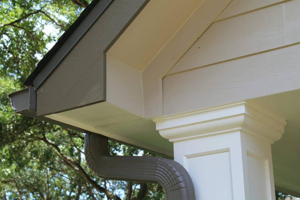A typical example of the high-end and polished siding replacement